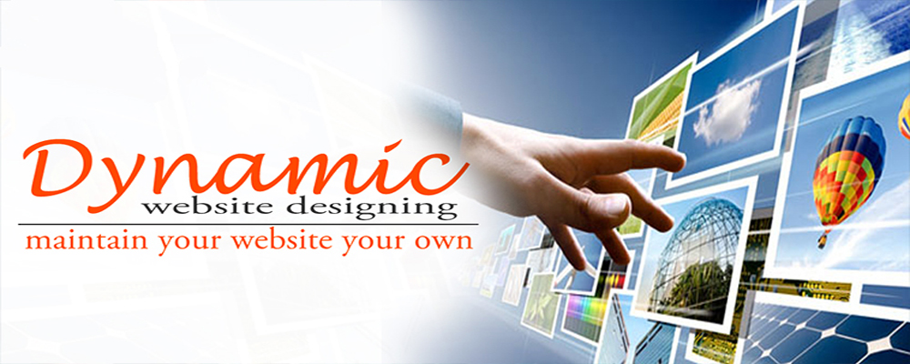 Service Provider of Dynamic Website Designing