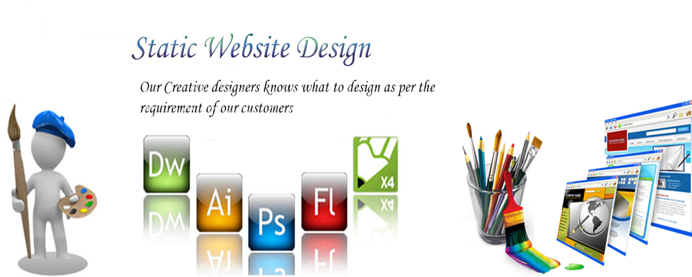 Service Provider of Static Web Designing Services